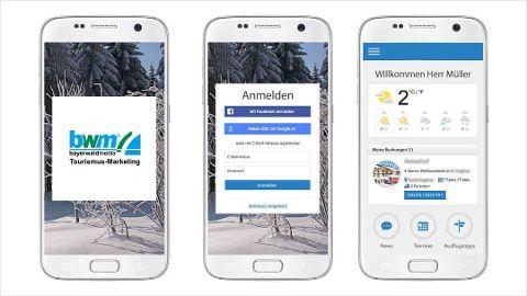 Mobile Gast-App inklusive Offline-Komfort