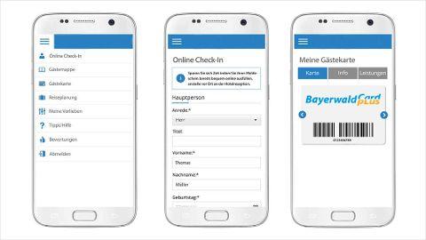 Umfangreiche Services auf der mobilen Gast-App